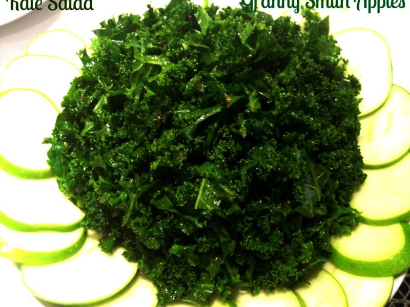 The Best  Kale and Apple Salad