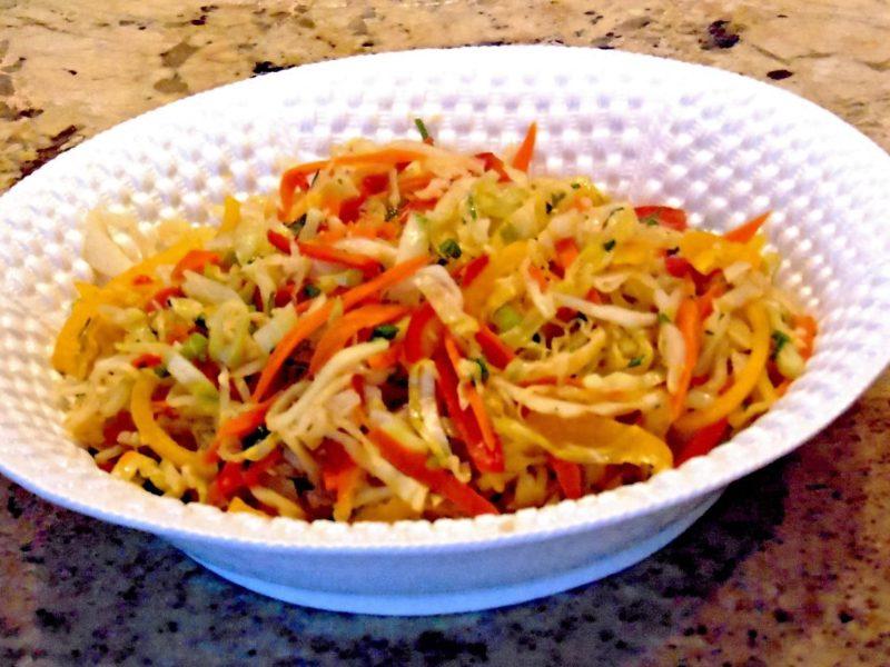 Wonderful Cabbage medley with Mango