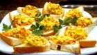Ackee and Saltfish Bruschetta